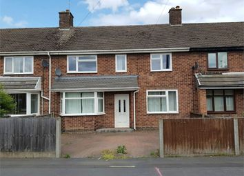 Thumbnail 3 bed terraced house to rent in St Marys Drive, Stretton, Burton-On-Trent, Staffordshire