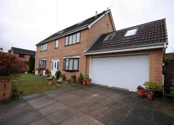 Thumbnail 5 bed detached house for sale in Derby Road, Skelmersdale