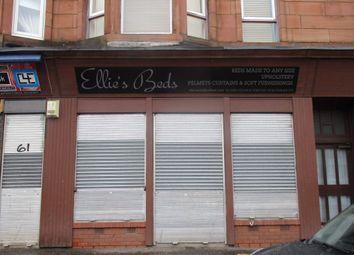 Thumbnail Retail premises to let in 63 Main Street, Glasgow