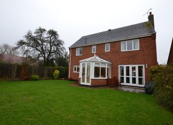 Thumbnail 4 bed detached house for sale in Bramley Close, Sileby, Leicestershire