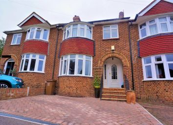 Thumbnail 4 bed terraced house for sale in Harvel Avenue, Rochester, Kent