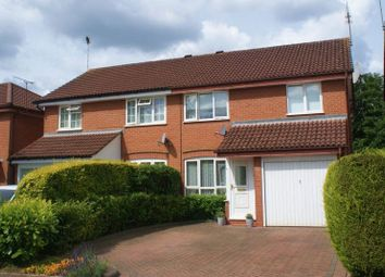 Thumbnail 3 bed semi-detached house for sale in Victor Way, Woodley, Reading