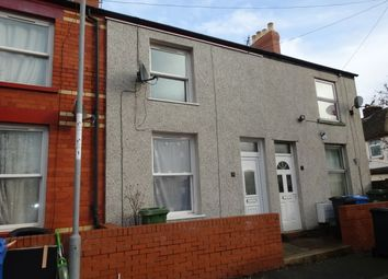 Thumbnail 2 bed end terrace house to rent in Vale View Terrace, Rhyl