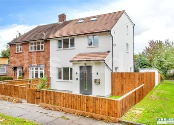 Thumbnail 4 bed semi-detached house for sale in Norbury Grove, Mill Hill, London