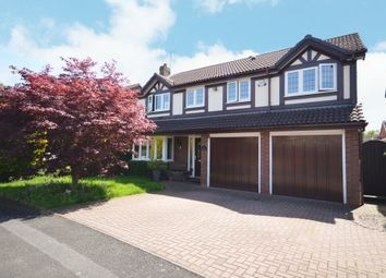 Thumbnail 5 bed detached house for sale in Hollington Way, Shirley, Solihull