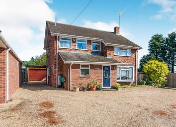 Thumbnail 4 bed detached house for sale in Chalk Road, Walpole St. Peter, Wisbech