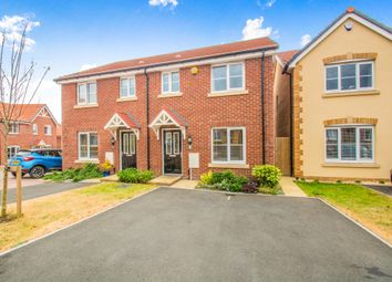 Thumbnail 3 bed semi-detached house for sale in Heol Y Sianel, Rhoose, Barry