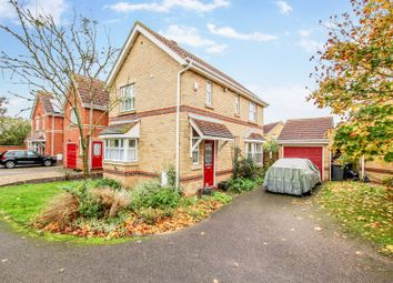 Thumbnail 3 bed detached house for sale in Tansy Close, Bedford