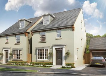 "Thumbnail 4 bed detached house for sale in ""Bayswater"" at Bath Road, Kings Stanley, Stonehouse"