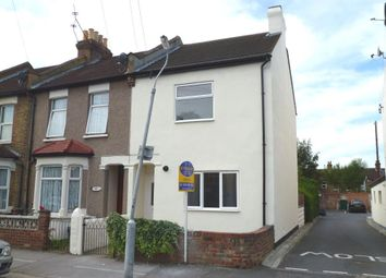 Thumbnail 3 bed end terrace house for sale in Hampton Road, Croydon, Surrey