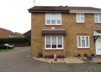 Thumbnail 2 bed semi-detached house for sale in Ambleside Close, Wellingborough