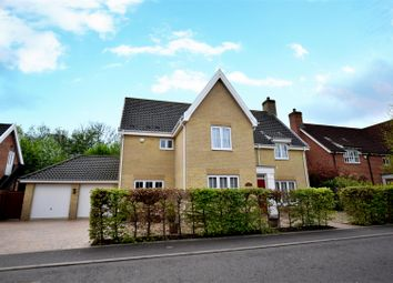 Thumbnail 5 bed detached house for sale in Cornfield Road, Mulbarton, Norwich