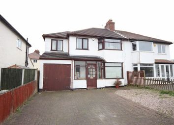 Thumbnail 4 bed semi-detached house for sale in Greenbank Drive, Pensby, Wirral
