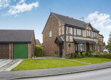 Thumbnail 3 bedroom semi-detached house for sale in Ashdene Close, Willerby, Hull