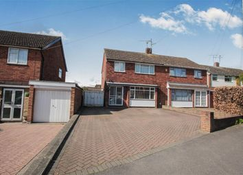 Thumbnail 3 bed semi-detached house for sale in Calverton Road, Luton