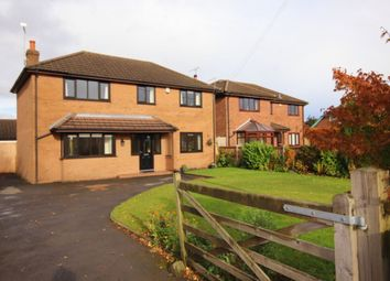 Thumbnail 4 bed detached house for sale in Newcastle Road, Shavington, Crewe