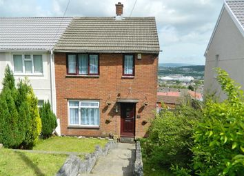 Thumbnail 2 bed semi-detached house for sale in Penymor Road, Penlan, Swansea