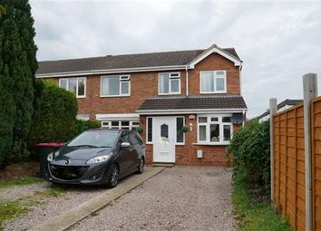 Thumbnail 4 bed semi-detached house for sale in Temple Way, Coleshill, Birmingham