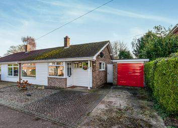 Thumbnail 2 bed semi-detached bungalow for sale in Beauford Road, Ingham, Bury St. Edmunds