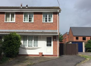 Thumbnail 2 bed property to rent in Dallow Close, Burton On Trent, Staffordshire