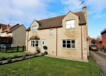 Thumbnail 3 bed detached house for sale in Counthorpe Lane, Castle Bytham, Grantham