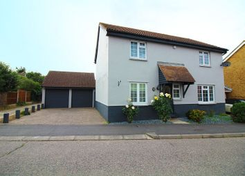 Thumbnail 4 bed detached house for sale in Barlows Reach, Springfield, Chelmsford