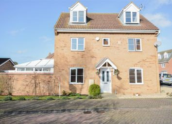 Thumbnail 5 bedroom detached house for sale in Normanton Road, Crowland, Peterborough