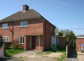 Thumbnail 2 bed semi-detached house for sale in Priory Avenue, Hungerford