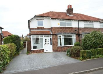 Thumbnail 3 bed semi-detached house for sale in Cholmondeley Avenue, Timperley, Altrincham