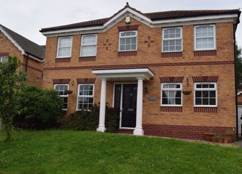 Thumbnail 4 bed detached house to rent in Honeysuckle Drive, South Normanton, Alfreton