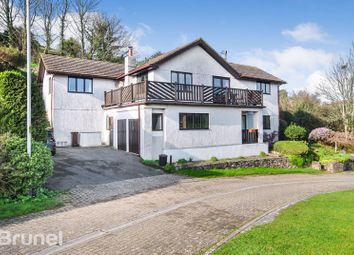 Thumbnail 5 bed detached house for sale in Coombe Park Close, Cawsand, Torpoint