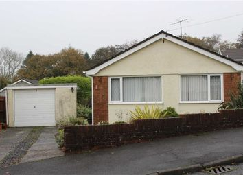 Thumbnail 3 bedroom detached bungalow for sale in Heol Ceri, Waunarlwydd, Swansea