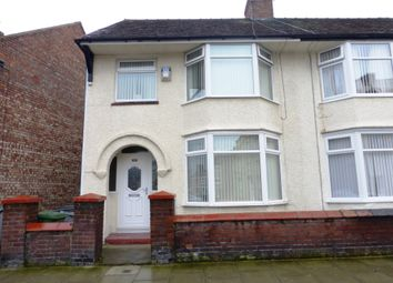 Thumbnail 3 bed semi-detached house for sale in Liscard Road, Wallasey