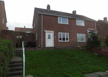 Thumbnail 2 bedroom semi-detached house for sale in Chaucer Road, Whickham, Newcastle Upon Tyne
