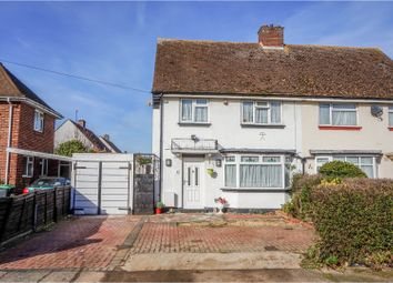 Thumbnail 3 bed semi-detached house for sale in Huntingdon Road, Kempston