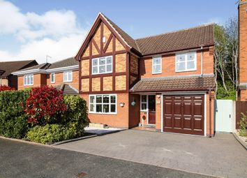 Thumbnail 4 bed detached house for sale in Hawkley Row, Warndon, Worcester