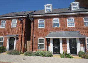 Thumbnail 3 bed town house for sale in Ashton Gardens, Eastleigh