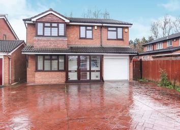 Thumbnail 5 bed detached house for sale in Walling Croft, Bilston, Wolverhampton, West Midlands