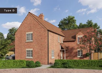Thumbnail 5 bed detached house for sale in Rectory Lea, Fillingham, Gainsborough