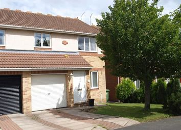 Thumbnail 3 bed semi-detached house for sale in Silverdale Road, Cramlington