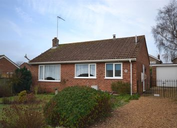 Thumbnail 2 bed detached bungalow for sale in Tudor Way, Dersingham, King's Lynn