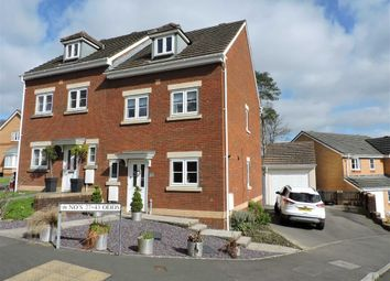 Thumbnail 3 bedroom town house for sale in Parc Gilbertson, Gelligron, Pontardawe, Swansea