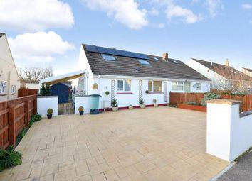 Thumbnail 4 bed semi-detached bungalow for sale in Clifford Avenue, Kingsteignton, Newton Abbot, Devon