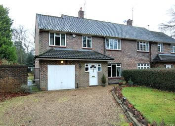Thumbnail 4 bed semi-detached house for sale in Old Avenue, West Byfleet, Surrey