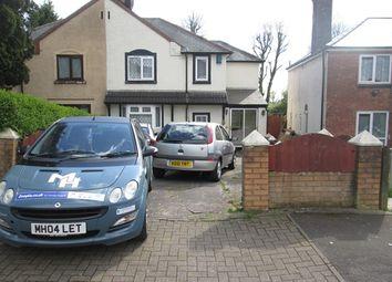 Thumbnail 2 bedroom semi-detached house to rent in Hill Croft Road, Kings Heath, Birmingham