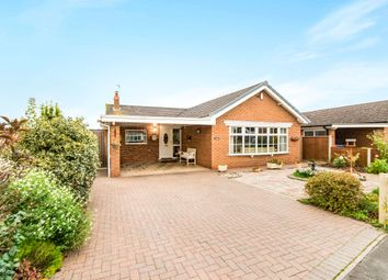 Thumbnail 4 bed detached bungalow for sale in The Leas, Barkston, Grantham