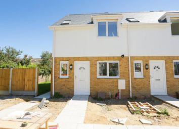 Thumbnail 2 bedroom end terrace house for sale in Harold Close, Cliftonville, Margate