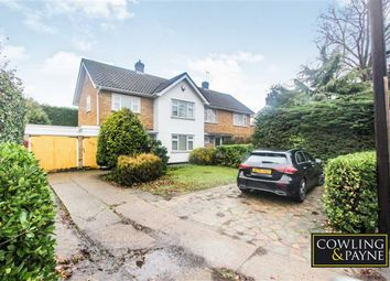 Thumbnail 3 bed semi-detached house for sale in Rayleigh Road, Benfleet, Essex