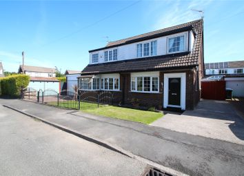 Thumbnail 3 bed semi-detached house for sale in Blythe Avenue, Smithybridge, Rochdale, Greater Manchester