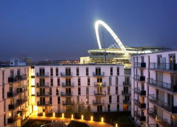 Thumbnail 1 bed flat to rent in Quadrant Court, Empire Way, Wembley Park